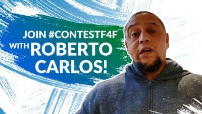 """Roberto Carlos ist Weltmeister und globaler Botschafter von """"F4F"""". (Bild: AGT/Football for Friendship)"""