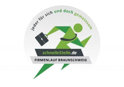 """Veranstaltungslogo SELBSTLÄUFER Firmenlauf Braunschweig 2020: """"Jeder für sich und doch gemeinsam!"""""""