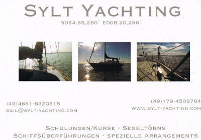 Sylt Yachting - Segelschule in Kiel und auf Sylt