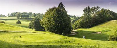 Traumhafte Aussichten am St. Wolfgang Golfplatz Uttlau