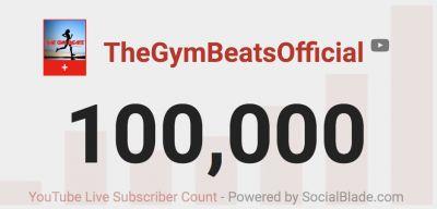 100K Abonnenten auf YouTube