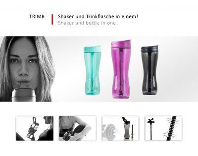 Trimr – Shaker und Trinkflasche in einem!