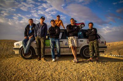 Das Team um Clemens Bittner und Simon Bethke: Camel RideRZ aus München