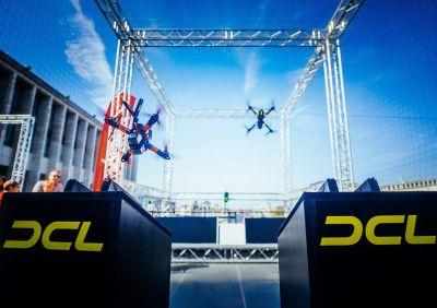 Über den Drohnen-Rennsimulator DCL - The Game können sich Nachwuchspiloten für eine Draft Selection in Cannes qualifizieren.