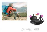 Die VUZE 360 Grad 3D Kamera ist jetzt auch als Bundle mit Stativ, VR Brille und Speicherkarte erhältlich.