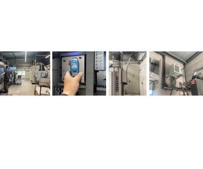 Realisierung einer geschlossenen Schaltschrankkühlung mit Luft/Wasser-Wärmetauschern und Chiller