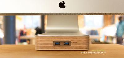 woodster aus Holz mit USB 3.0