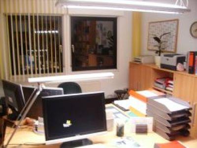 Büro am Abend