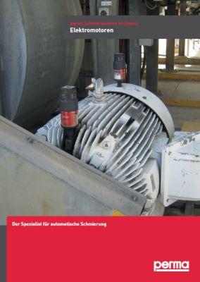 Flyer: perma Schmiersysteme im Einsatz - Elektromotoren