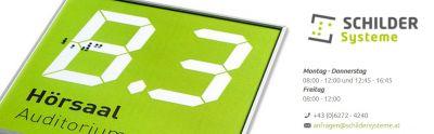 Schilder Systeme - Ihr Experte für Türschilder