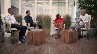 Im Experten-Interview sprechen Ralf-Michael Franke (Beiratsvorsitzender), Peter Sorowka (CEO) und Carsten Stiller (CSO) von Cybus