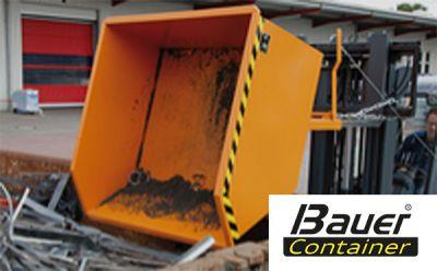 Bauer Container - Ihr Experte für Spezialcontainer und Stapler Anbaugeräte
