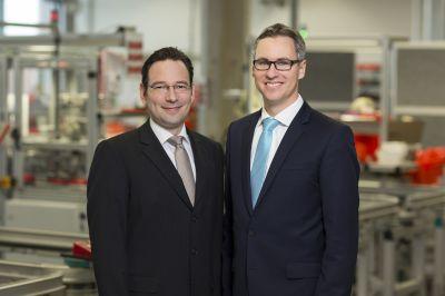 Christian Köstler (links), COO  und Dr. Philipp Dehn (rechts), CEO und Managing Partner bei DEHN