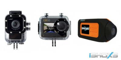 iSHOXS ISAW A2 SPEEDHD CUBEHD Actioncam