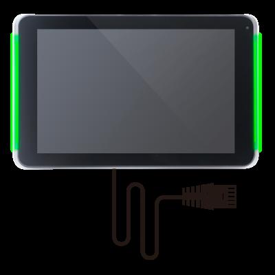 Digital Signage Display Lösung von digitalSIGNAGE.de zur Raumbuchung & Wegeleitung