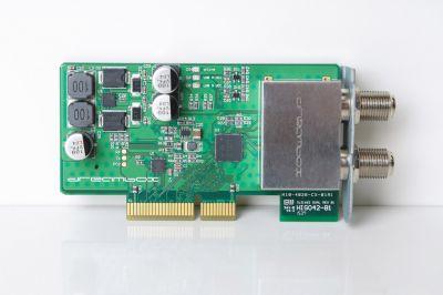 Der neue Twin Silicon DVB-S2 Tuner für Dreamboxen mit Enigma2 ist auch zu Goliath kompatibel.