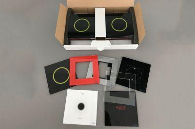 Sicht- und Bedienblenden für Lichtschalter- und Steckdosen: Das Design steht im Mittelpunkt.