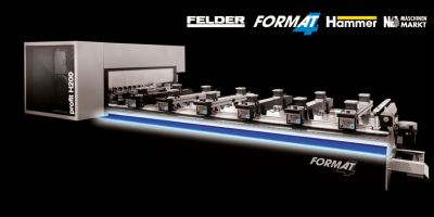 Das neue CNC-Bearbeitungszentrum profit H200 von FORMAT-4