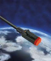 LÜTZE Deutsch-Ventilstecker. Robust und zuverlässig. Erfüllt die Anforderungen der Schutzart IP 69K.