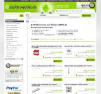 Elektroartikel wie Gira Schalter und Obo Bettermann im Elektro Shop von Elektro4000.de