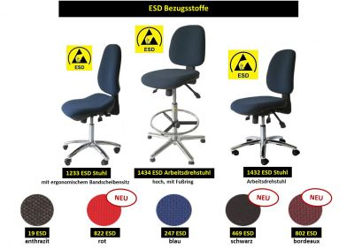 neue ESD-Farbpalette