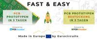 Entwickler können ihre Musterleiterplatten bei Eurocircuits fertigen und auch gleich bestücken lassen.