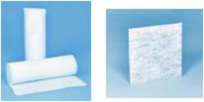 Filtermatten-Zuschnitte und Filtermatten-Rollenware für den Service/Austausch bei Schaltschrank-Filterlüfter
