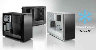 Das Define S2 ist der nächste große Schritt in der Entwicklung des offenen Gehäuse-Designs