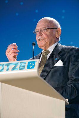 Unternehmerisches Urgestein: Friedrich Lütze