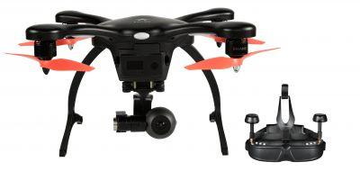 Ghostdrone 2.0 mit 4K-Kamera und VR-Brille