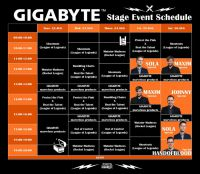 Gigabyte Gamescom 2017 Event Plan