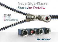 GigE Vision Kameras von Crevis mit PoE- und ToE-Funktionalität