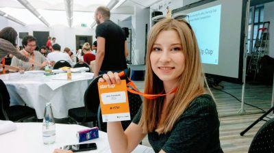 Anna Timoshenko - Mitbegründerin und Geschäftsführerin von Hilfy