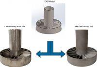 Der Metall-3D-Druck für die industrielle Fertigung des Startups 3DK Tech Limited spart Zeit und Kosten. Foto: Firma