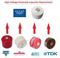 HVC Capacitor: 1:1 Austauschtypen für Hochvolt-Doorknob Kondensatoren alternativ zu Vishay, TDK, AVX, Murata