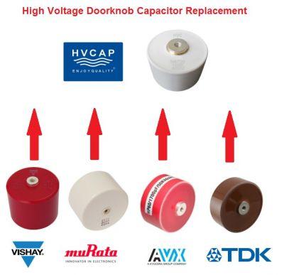 HVC Capacitor - Hochvolt-Doorknob Kondensatoren