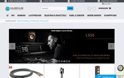 Der Musikus HiFi Onlineshop bietet Ihnen alles rund um HiFi an. Für jeden ist garantiert etwas dabei.