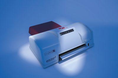 High-End Ink-Jet-Printer pictor2 misst als erster Industriedrucker überhaupt, selbständig den Druckbereich ein