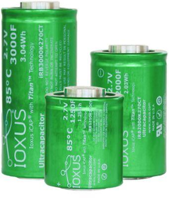 SuperCAP-Zellen von IOXUS