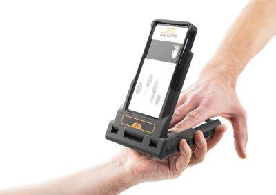 LIVETOUCH Flipcase - mobile Verbindung zwischen Mobiltelefon und Fingerabdruckleser