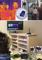 Helios Klinikum Bad Saarow - thermische, kontaktlose KI-Körpertemperatur-Kontrolle von Dahua.