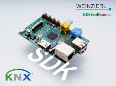 KNX für den Raspberry Pi: mit dem SDK kDriveExpress von Weinzierl.