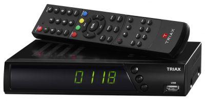Der neue HDTV-Receiver S-HD 11 von TRIAX ist für vier Sat-Positionen vorprogrammiert und unterstützt Unicable 1 und 2. Bild: TRIAX