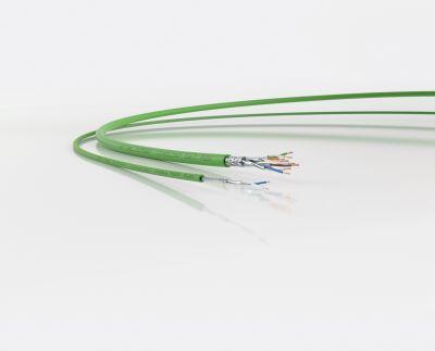 Statt vier Aderpaaren haben Single-Pair-Ethernet-Leitungen nur ein Aderpaar