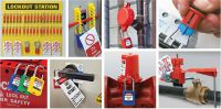 Lockout Tagout Verriegelungen und Sicherheitskennzeichnung direkt vom Brady-Distributor