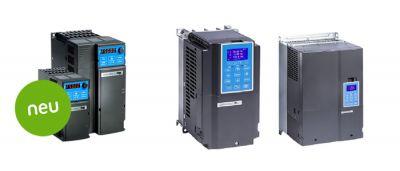 Die neuen Frequenzumrichter-Serien MS3 + C2
