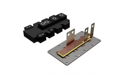 Stromschiene für hohe Temperaturen, neu entwickelt für PrimePack™ Leistungsmodule