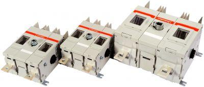 Für PV-Anwendungen zugelassene DC-Lasttrennschalter