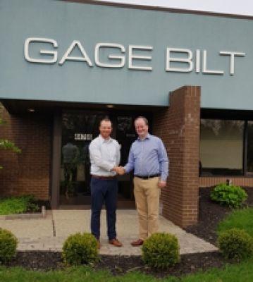 Kyle Lang (Director Sales Gage Bilt) and Julian von Bismarck (International Sales Director VVG)