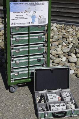 Lernzirkelwagen Überstromschutzorgane für die Ausbildung junger Elektriker